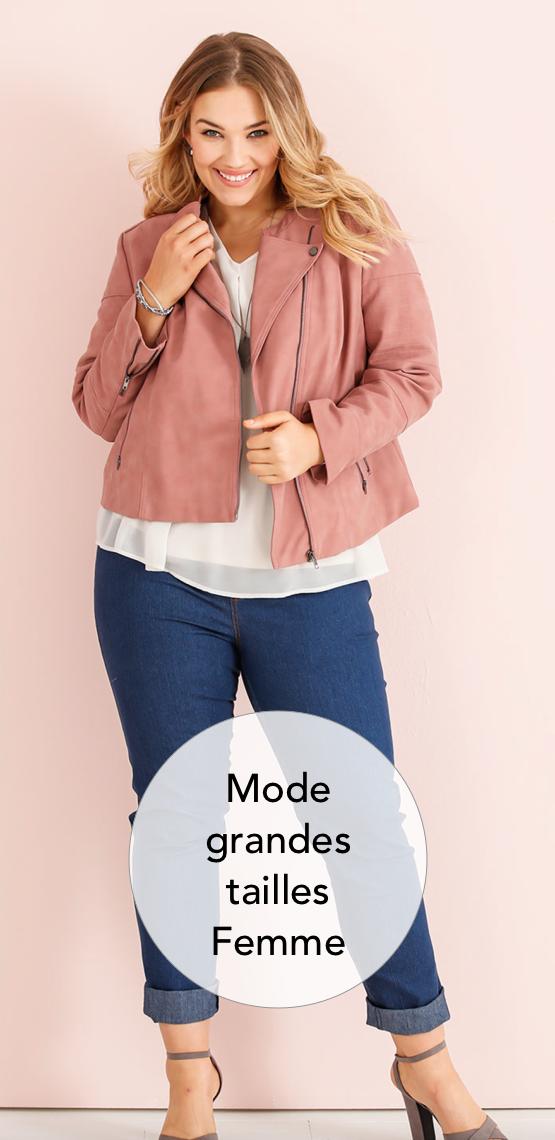 Mode Grande Taille Vêtement Chic Pour Femmes Rondes Et Fortes