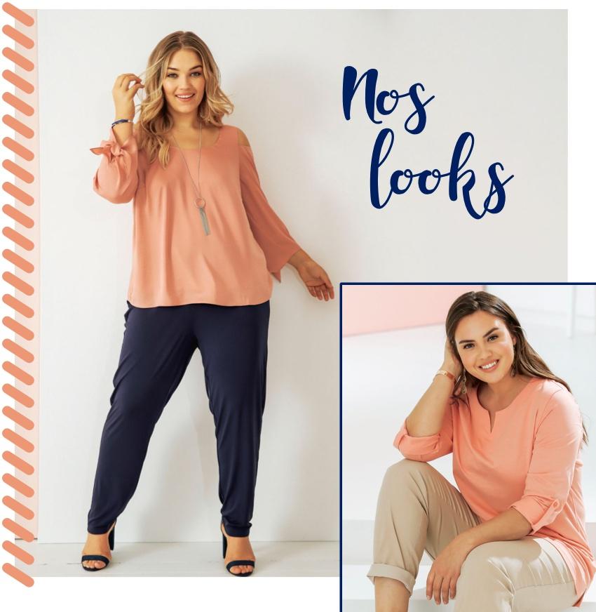 Mode grande taille : vêtement chic pour femmes