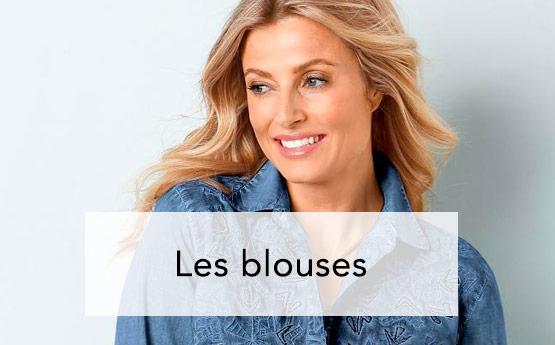 db33e1cf112 Blouses femme Chemisiers ...