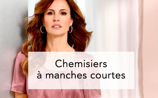 Chemisiers courts femme