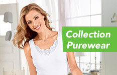 Collection Purewear lingerie