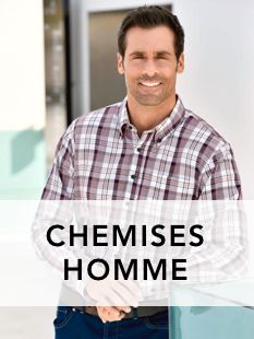 Collection chemises homme